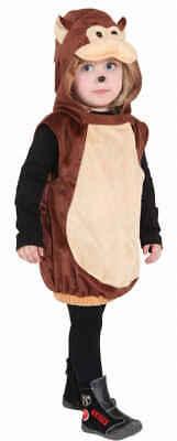 Jungen Mädchen Affe Tier Zoo Wild Büchertag Karneval Kostüm Kleid Outfit ()
