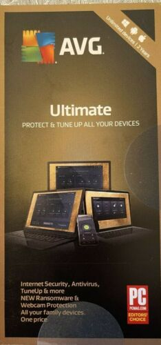 AVG Ultimate 2021 for Unlimited Devices / 2 Years (Key Card)
