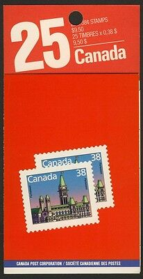 """Canada 1165b Booklet BK103b MNH House of Parliament, """"Lunch Saver"""""""