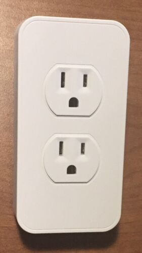 SwitchMate Automated Wall Plug Controller Lighting - Alexa, Google, WHITE NEW