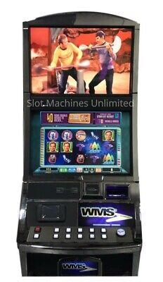 "WMS WILLIAMS BLUEBIRD 2 VIDEO SLOT MACHINE ""Star Trek"""