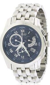 Citizen-Calibre-8700-Men-039-s-Perpetual-Calendar-Watch-BL8000-54L