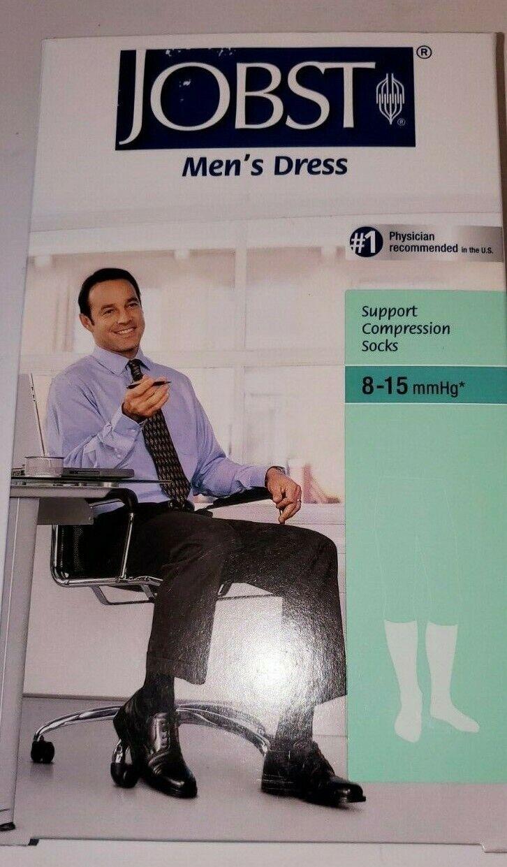 JOBST Women Men Compression Knee High Socks 8-15 mmHg Sz 4.5