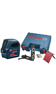 Bosch Professional Self-Leveling Cross-Line Laser with Batteries GLL55 New