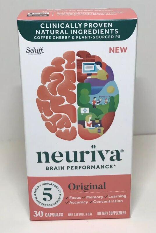 NEURIVA Original Brain Performance 30 Caps Exp 2020+ 5470