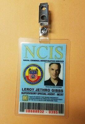 Ncis TV Serie Id Abzeichen - Spezial Vertreter Gibbs Kostüm - Gibbs Ncis Kostüm