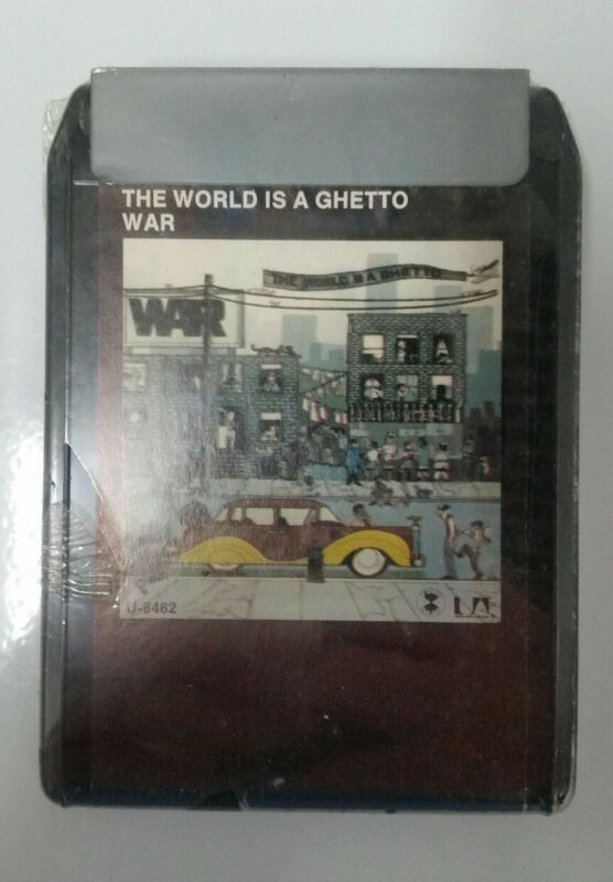 Vintage War The World Is A Ghetto 1972 New Sealed 8 Track Music Nos