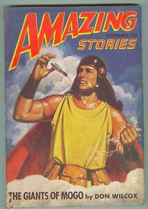 Amazing-Stories-November-1947-VG-The-Giants-of-Mogo