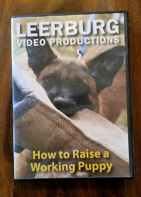 Leerburg Video Productions How To Raise A Working Puppy Dog Training DVD Video