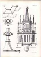 Gothic Lubeck Hoch Elten Ciborium Elevation -  - ebay.co.uk