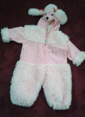 Pink Pudel Hund Kleinkind Kostüm Ages 2t Verkleidung Halloween (G)