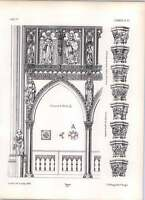 Gothic Lubeck St Mary's Church Rood Loft And Railing Arches - arche - ebay.co.uk
