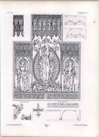 Gothic Lubeck Holy Ghost Chapel Tryptich Center Part Elevation -  - ebay.co.uk