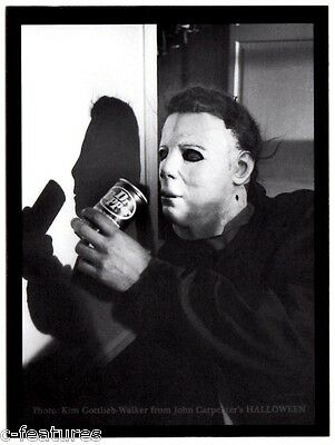John Carpenter HALLOWEEN 1978 Michael Myers MAGNET Photo THE SHAPE Dr. Pepper! - Dr John Halloween