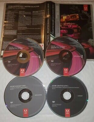 Adobe Creative Suite 5 Master Collection Mac Please Read Description Free Deliv