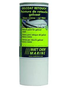 Gelcoat retouch blanc creme ral 9001 matt chem aerosol 150 for Fenetre ral 9001