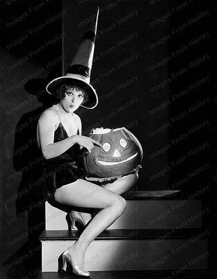 8x10 Print Clara Bow Sexy Leggy Halloween Theme by Eugene Robert Richee #CB02 (Eugene Halloween)
