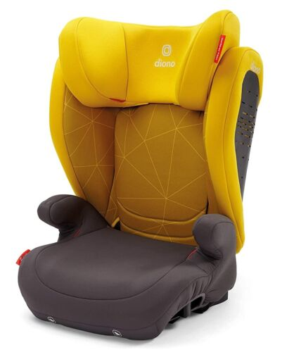 Diono Monterey 4DXT 2 in 1 Expandable Child Safety Booster Car Seat Yellow New
