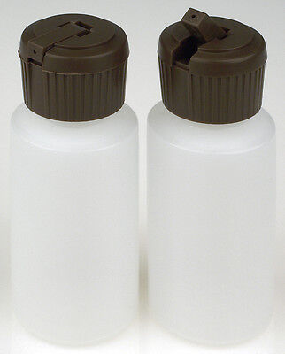 Plastic Bottle w/Applicator Lid, 1-oz., (HDPE), 20-Pack, New
