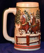 Budweiser Beer Steins 1984