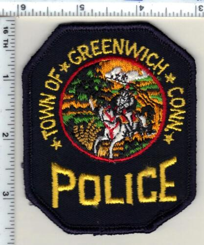 Town of Greenwich Police (Connecticut) 2nd Issue Shoulder Patch