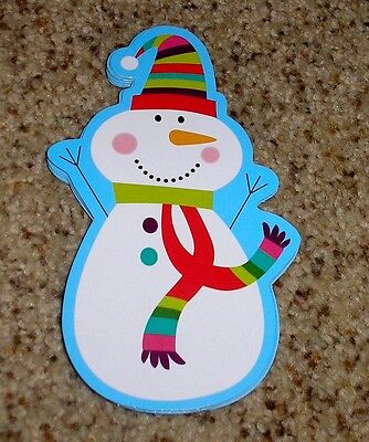 Teacher Resource: 12 Two-Sided Snowmen Bulletin Board Accents  - 5