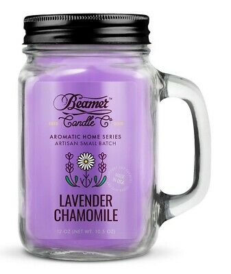 Beamer Smoke Killer Candle 12 oz - Scent: Lavender Chamomile - The Best!