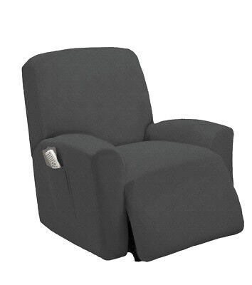 - 1 PC Stretch Recliner Slipcover Fit Furniture Chair Lazy Boy Cover, Estella