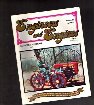 Old Steamgas Engine Magazine Massey-harrisdeerenichols Shepardsymco