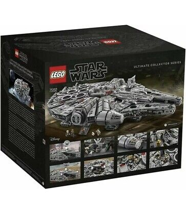 LEGO Star Wars Millennium Falcon Ultimate Collectors Series (75192) NEW IN BOX!!