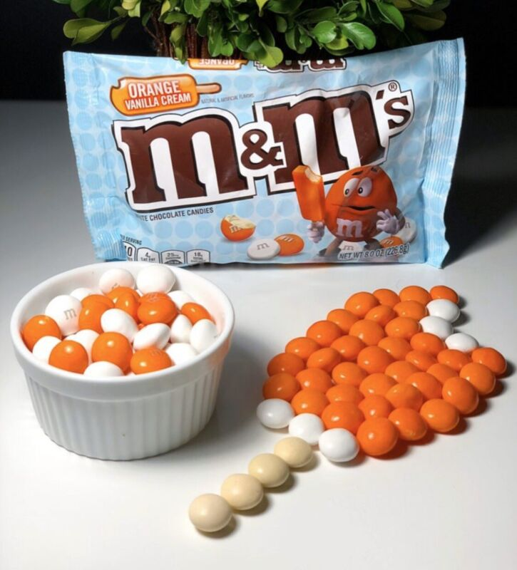 Original Orange Vanilla Cream M&M's Discontinued and Rare