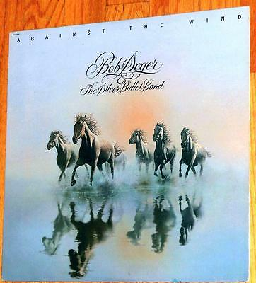 (VINYL LP Bob Seger And The Silver Bullet Band - Against The Wind)