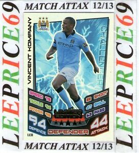 MATCH ATTAX 12/13 CHOOSE YOUR 100 / HUNDRED CLUB / LIMITED EDITION CARDS