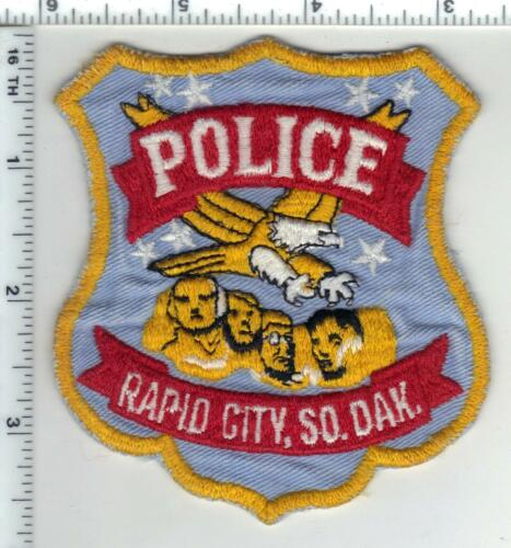 Rapid City Police (South Dakota) 1st Issue Uniform Take-Off Shoulder Patch