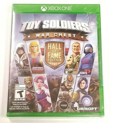 Toy Soldiers : War Chest Hall of Fame Edition for Microsoft XBOX ONE *BRAND NEW* ()