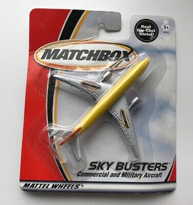 MATCHBOX Sky Busters Diecast Airplane Matchbox Commercial Military Aircraft