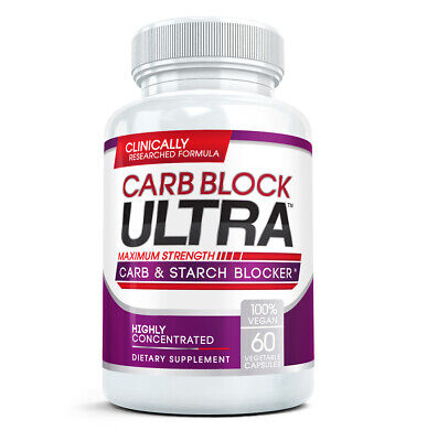 CARB BLOCK ULTRA #1 Diet Pill -  double your weight loss