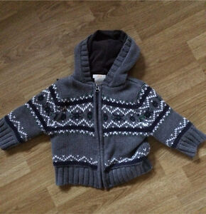 12 month sweater jacket
