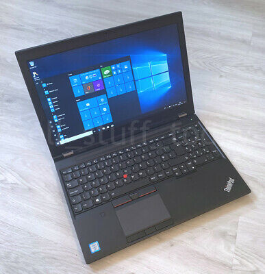 Lenovo ThinkPad P50 workstation, i7-6820HQ, 24GB/256SSD, Quadro M1000M -S09K