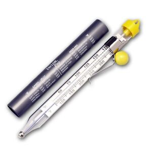 Taylor 5978 Glass Candy and Deep Fry Thermometer *