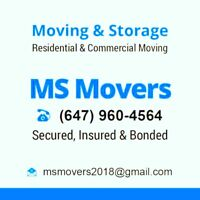 LAST MINUTE MILTON OAKVILLE BURLINGTON MOVERS CALL 647-960-4564