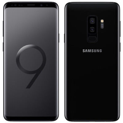 New Samsung Galaxy S9+ Plus SM-G965 64GB Black at&t International GSM Unlocked