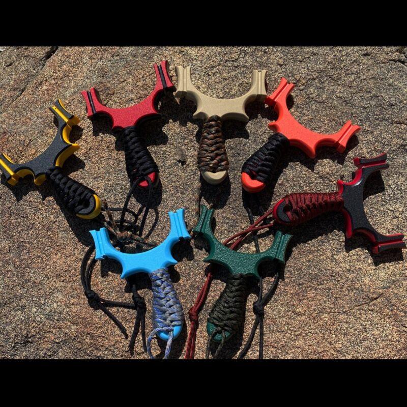 """PEGASUS"" TTF HDPE Hunting Slingshot. Catapult. Custom Handmade."