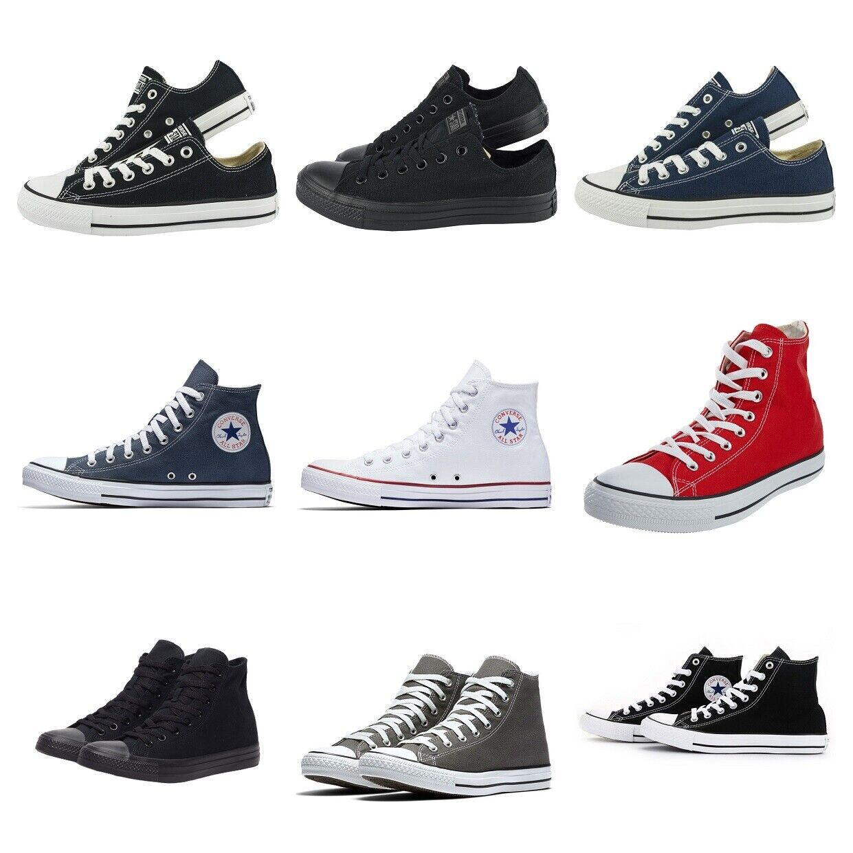 mens converse lean ox trainers