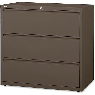 Lorell Lateral File 3-drawer 42x18-58 40-14 Medium Tone 60476