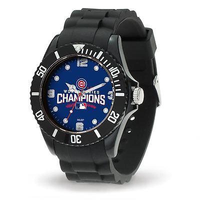 Series Mlb Watch - Chicago Cubs 2016 World Series Champs MLB Men's Spirit Watch