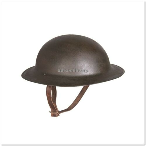 WWI US Army M17 Steel Helmet with Liner - Aged Beatiful WWI Reproduction