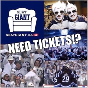 WINNIPEG JETS TICKETS FROM $69 CAD!