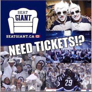 WINNIPEG JETS TICKETS FROM JUST $59 CAD!!!