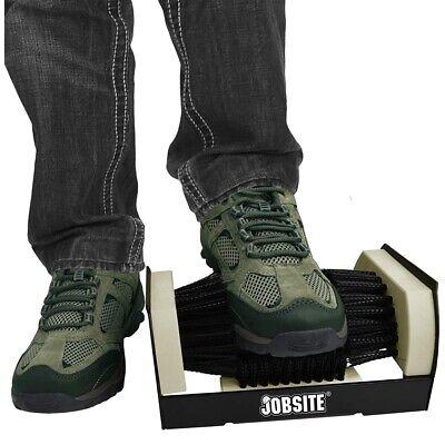 Boot Scraper Brush Mat Door Shoe Sneaker Scrubber Cleaner Mud Dirt Floor Rug
